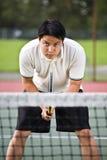 asian player tennis Στοκ Εικόνες