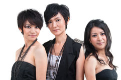 Asian pop girls Stock Images