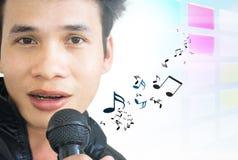 Asian Pop Singer Royalty Free Stock Image