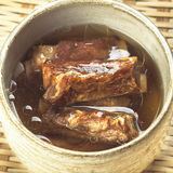 Asian pork rib soup Stock Photos