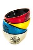 Asian pottery Royalty Free Stock Photo