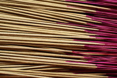 Asian prayer joss sticks Stock Photos