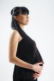 Asian pregnant Stock Photo