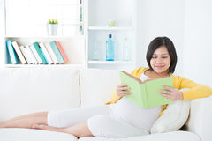 Asian pregnant woman Royalty Free Stock Photos