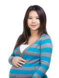 Asian pregnant woman portrait Royalty Free Stock Photo