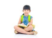 Asian preschool girl Royalty Free Stock Photography