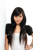 Asian pretty woman Royalty Free Stock Image