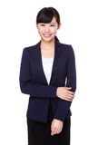 Asian Pretty Young Businesswoman Royalty Free Stock Photos