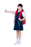 Asian primary student Stock Image