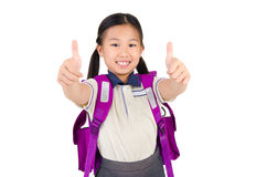 Asian primary student Royalty Free Stock Photo