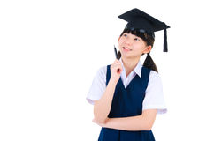 Asian primary student Royalty Free Stock Photos
