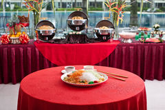 Asian Prosperity Toss, Lohei, Yusheng, yee sang Stock Images