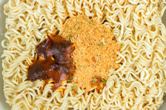 Asian ramen instant noodles Stock Photography