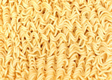 Asian ramen instant noodles isolated on white background Royalty Free Stock Photography