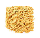 Asian ramen instant noodles  on white background. Asian ramen instant noodles isolated on white background Royalty Free Stock Image