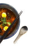 Asian ramen soup Royalty Free Stock Photos