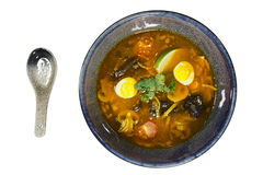 Asian ramen soup Stock Photography