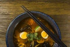 Asian ramen soup Royalty Free Stock Image