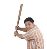 Asian rampage man Royalty Free Stock Photography