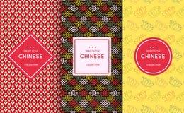 Asian retro pattern background Stock Photos