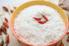 Asian Rice Stock Photo