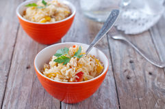 Asian rice basmati Stock Image