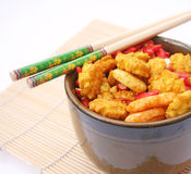 Asian Rice cookies Royalty Free Stock Photos
