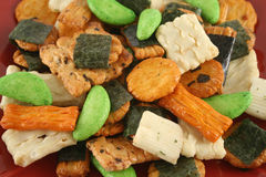 Asian Rice Crackers 3 Royalty Free Stock Images