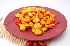 Asian rice crackers Stock Images