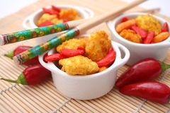 Asian rice crackers Royalty Free Stock Image