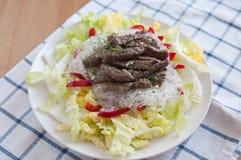 Asian Rice Noodle Salad Royalty Free Stock Photos