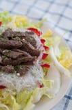 Asian Rice Noodle Salad Stock Photos