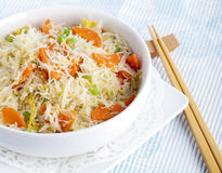 Asian Rice Noodles Stock Image