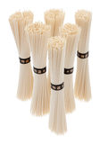 Asian rice noodles Royalty Free Stock Images