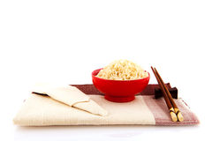Asian rice table Royalty Free Stock Images