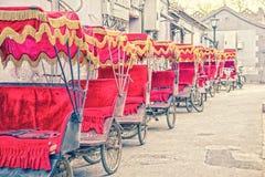 Asian rickshaws Stock Photos