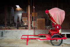 Asian rickshaws Stock Photo