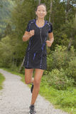 Asian runner Royalty Free Stock Image