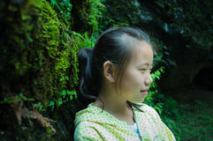 Asian rural child Royalty Free Stock Photos