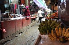 Asian rural market in Sapa, Vietnam Royalty Free Stock Images