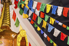 Asian`s handcraft. Exposition of colored asian`s handcraft Royalty Free Stock Photos