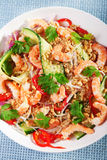 Asian salad with noodles Stock Photos