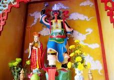 Asian scary mythological statue Royalty Free Stock Photo