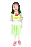 Asian school girl Royalty Free Stock Photo