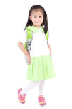 Asian school girl Royalty Free Stock Photography