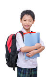 Asian schoolboy in uniform Stock Images