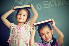 Asian schoolgirl portrait Stock Photography