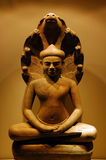 Asian Sculpture. A sculpture that depicts the asian culture Royalty Free Stock Photo
