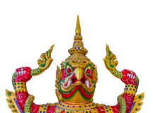 Asian Sculpture style Royalty Free Stock Photos