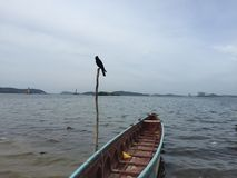 Asian Sea. Beach side and fishing places Royalty Free Stock Image